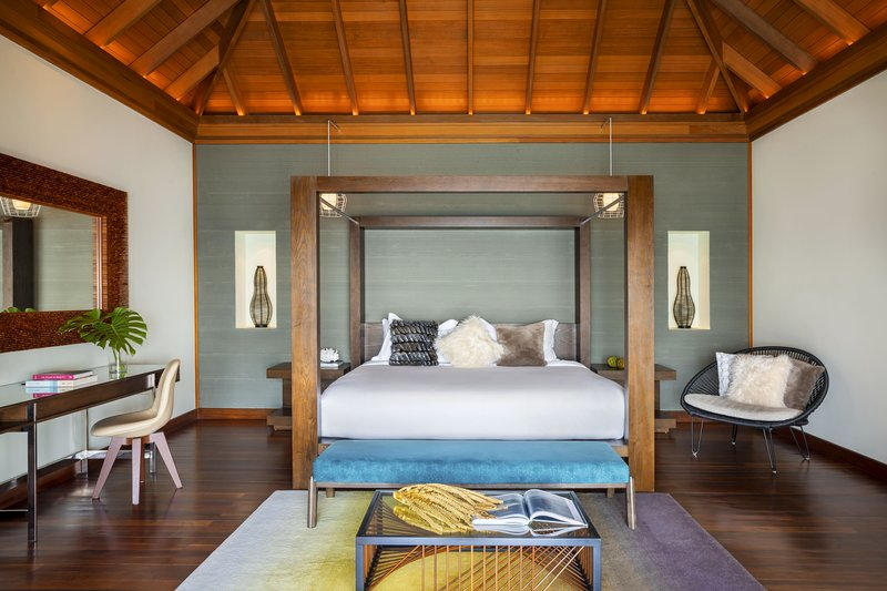 Ocean Bungalow With Pool - Bedroom