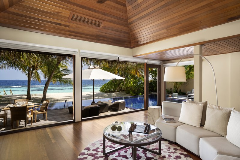 Two Bedroom Beach Pavilion -  Living Room