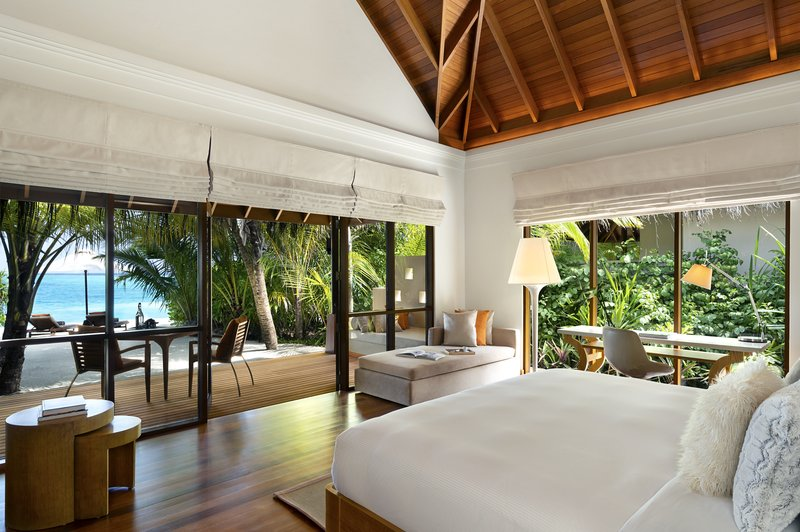 Beach Bungalow - Pool Bedroom View
