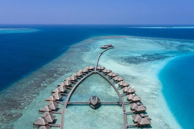 Aerial Overwater Accommodation