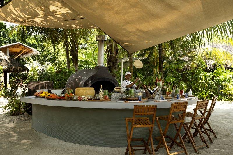 Forno Restaurant - Outdoor Chef Counter
