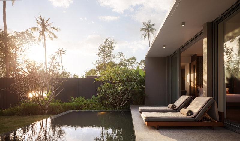 1 Bedroom Beach Front Pool Deck