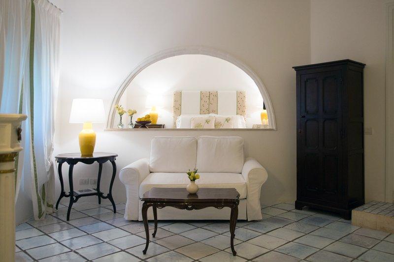 Suite Aranci Living Room