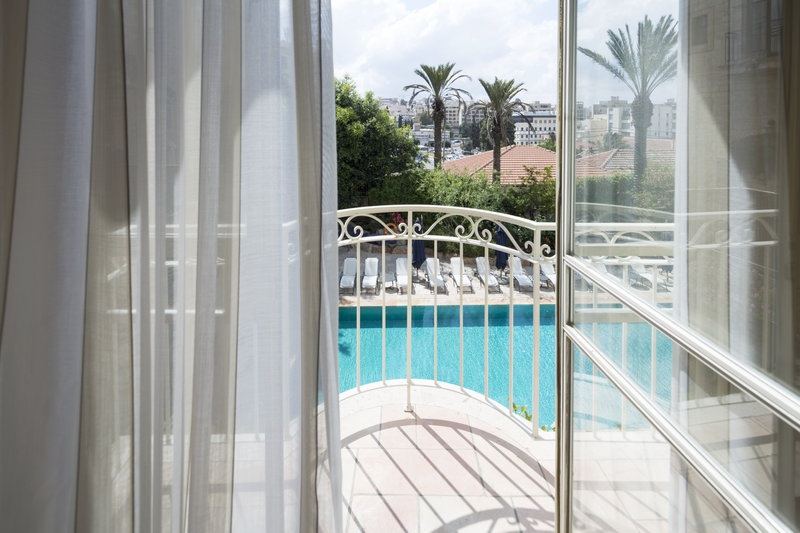 Balcony Pool View Room