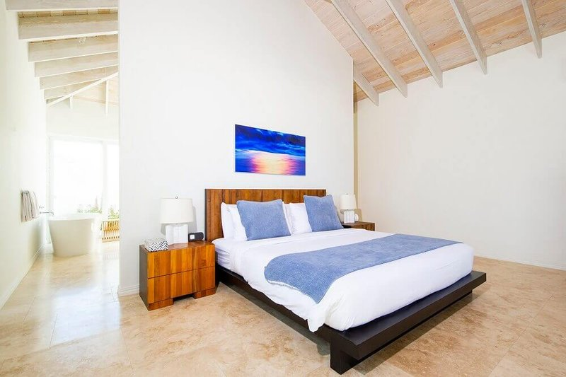 One Bedroom Beachfront Villa Bedroom