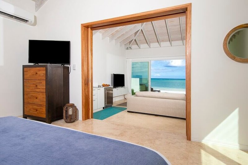 One Bedroom Beachfront Villa Bedroom View