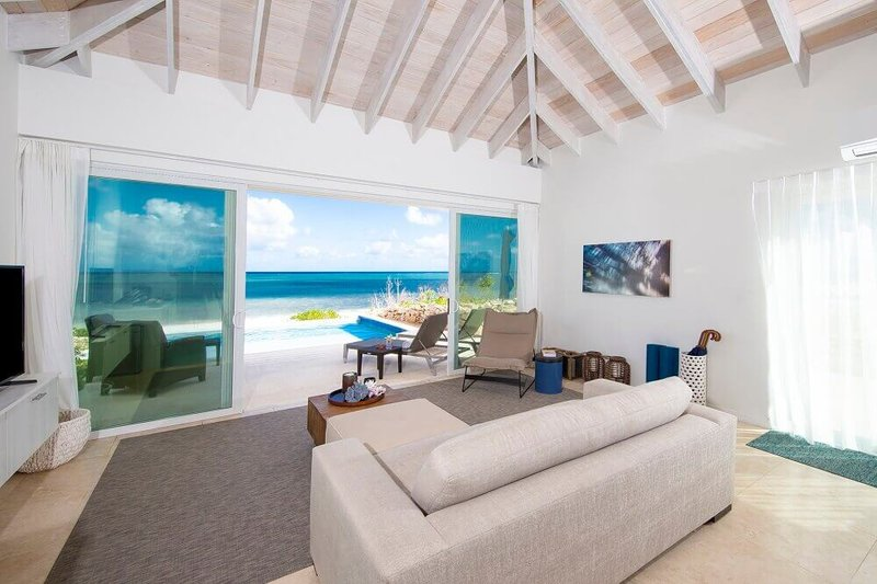 One Bedroom Beachfront Villa Interior