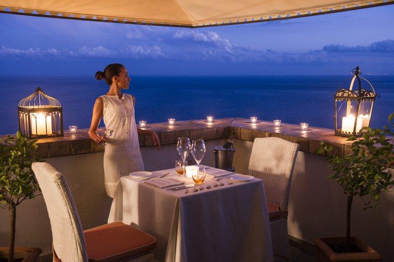 Villa Carlotta Restaurant terrace
