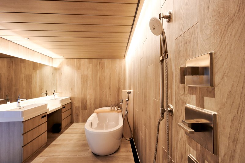 Forest Terrace Suite Bathroom
