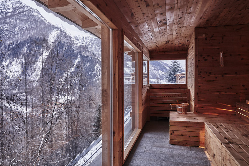 Panoramic Sauna Winter