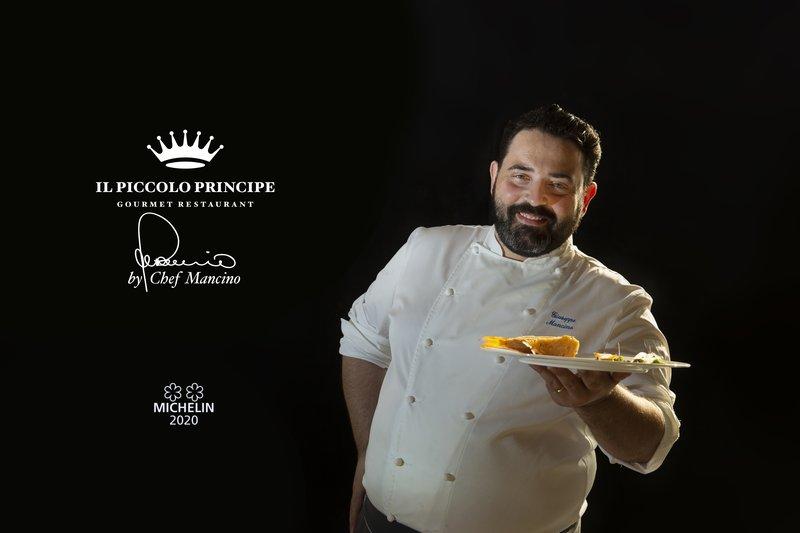 2 Michelin Star Chef Giuseppe Mancino