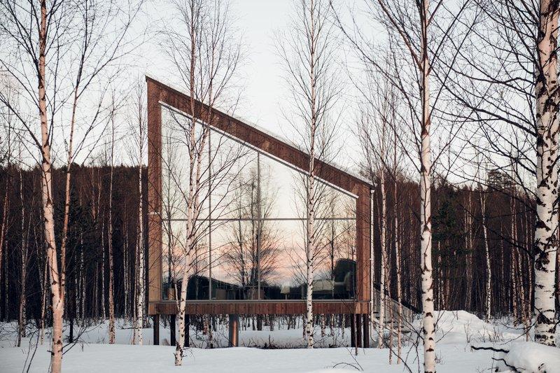 Land Cabin Winter