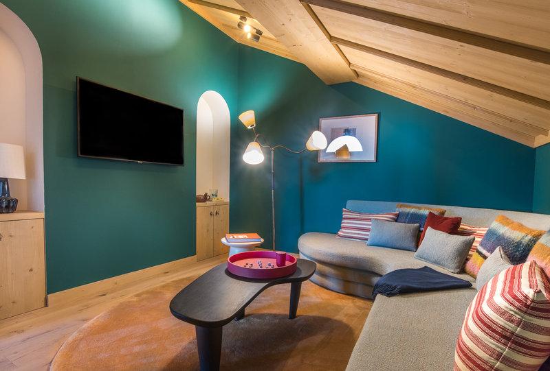Chalet TV Room
