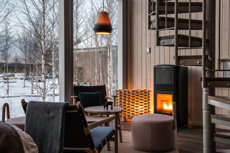 Land Cabin - Cosy Fireplace
