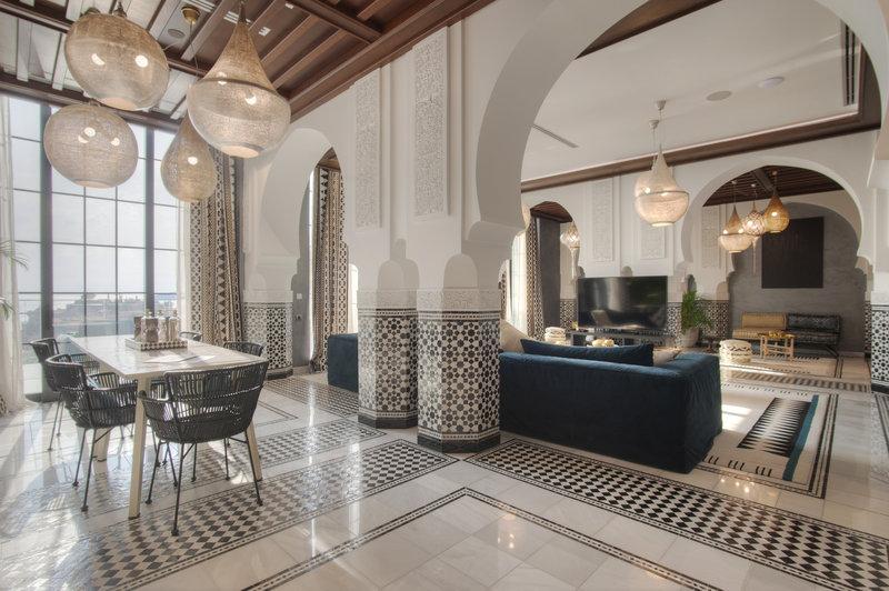 Salma Suite Living Area