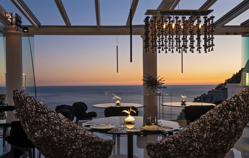 Li Galli Gourmet Restaurant Sunset