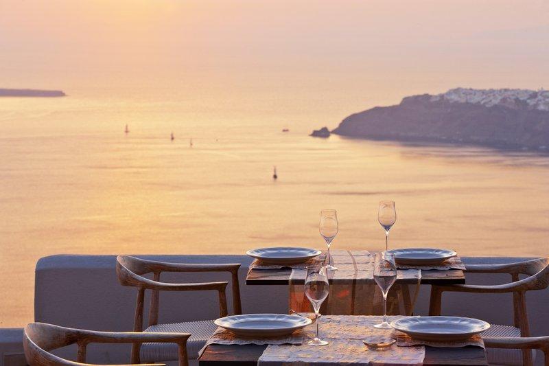 Aurum Restaurant Sunset