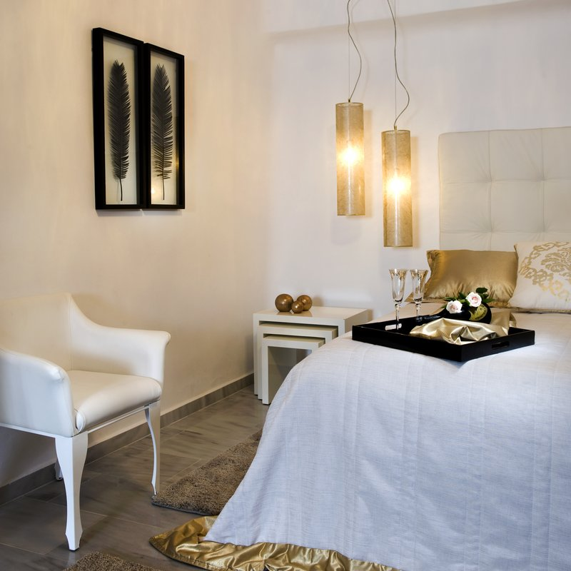 Deluxe Suite Bedroom - King-Size Bed