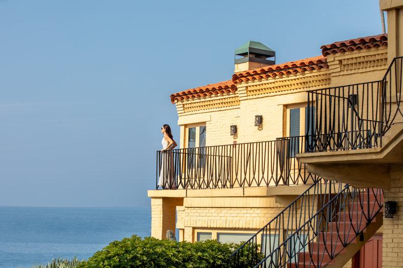 Pantai Inn Room 201 Balcony