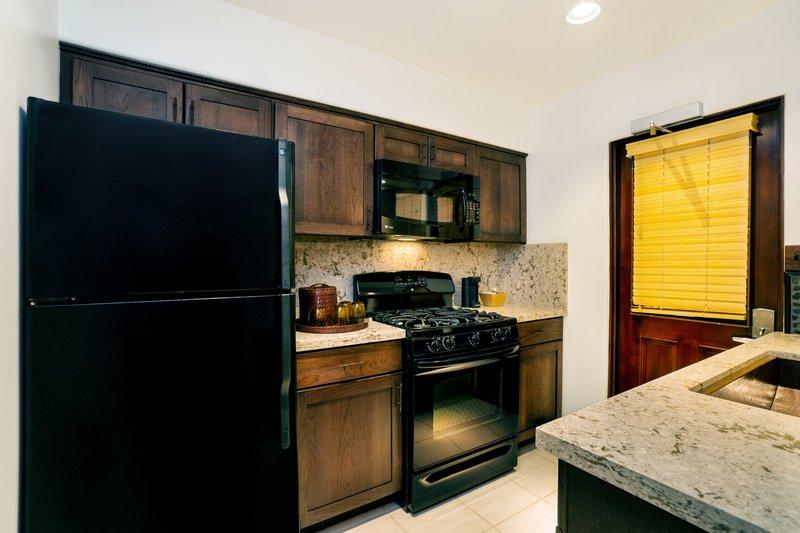 One bedroom partial ocean view - kitchen - PKQ