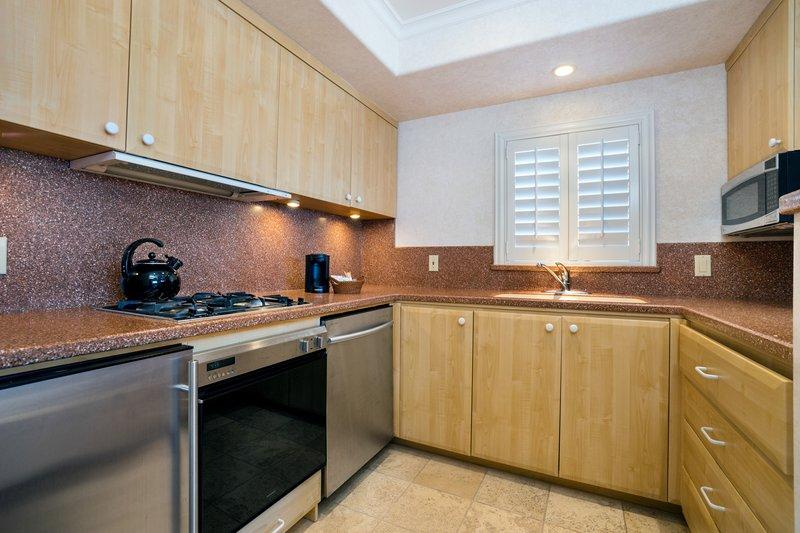 One bedroom partial ocean view - kitchen - KPV