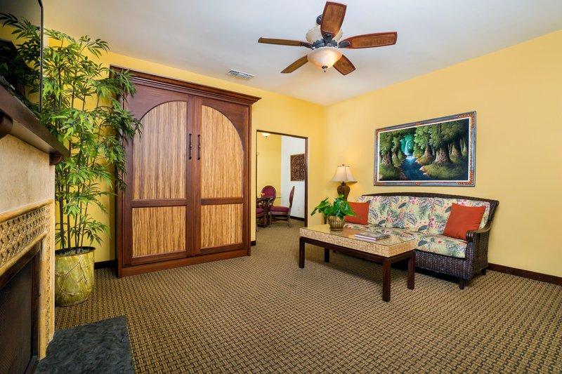 One bedroom partial ocean view - living room - POK
