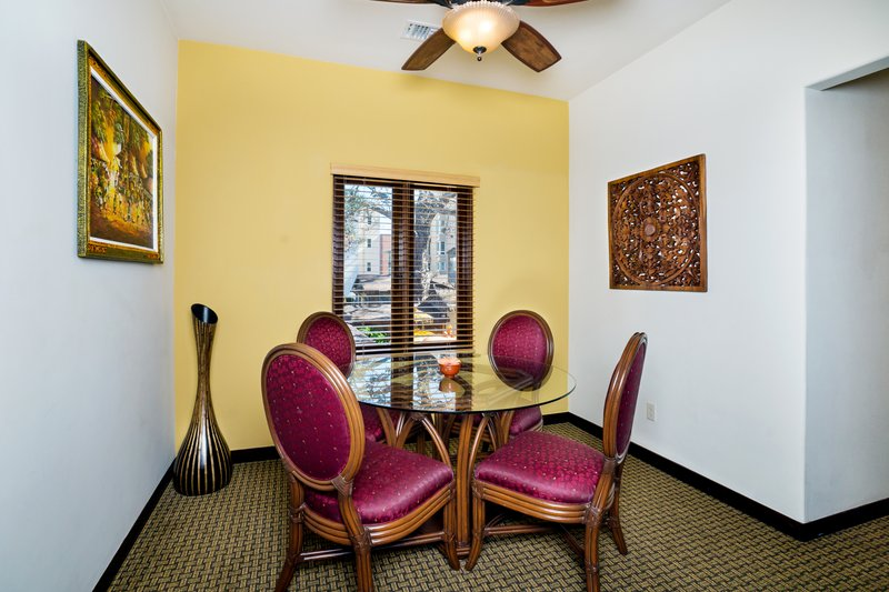 One bedroom partial ocean view - dining room - POK