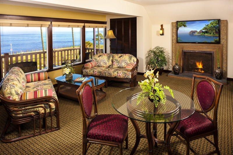 One bedroom ocean view - living room - OK1