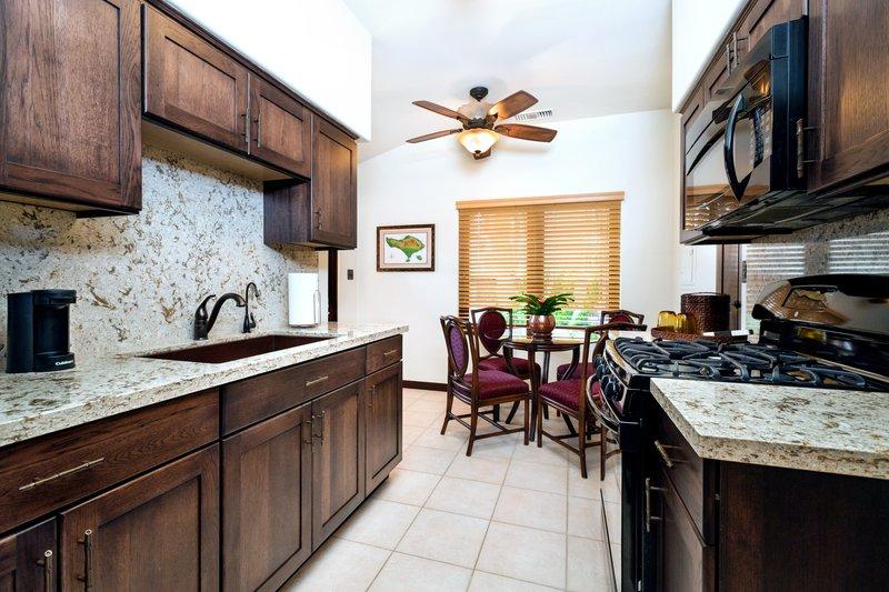 One bedroom partial ocean view - kitchen - PQQ