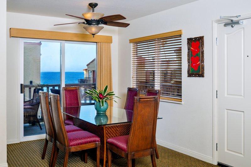 Three bedroom partial ocean view - dining room - PB3