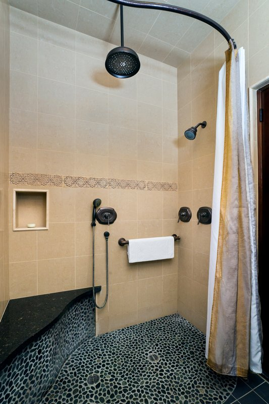 One bedroom partial ocean view - bathroom - POK