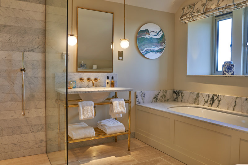 Mews Junior Suite Bathroom