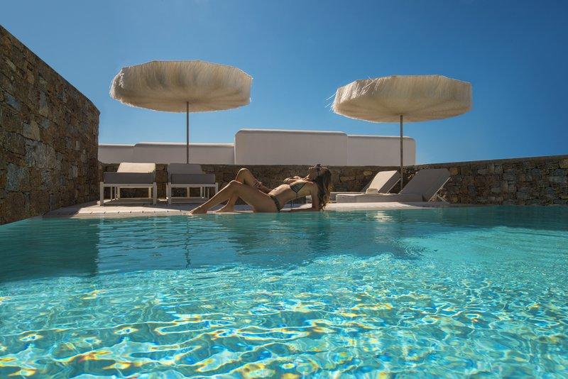 Eccentric Suite Pool Outdoor Area