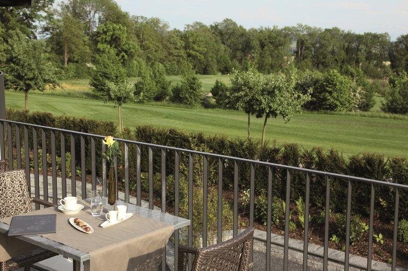 Terrace view golf course