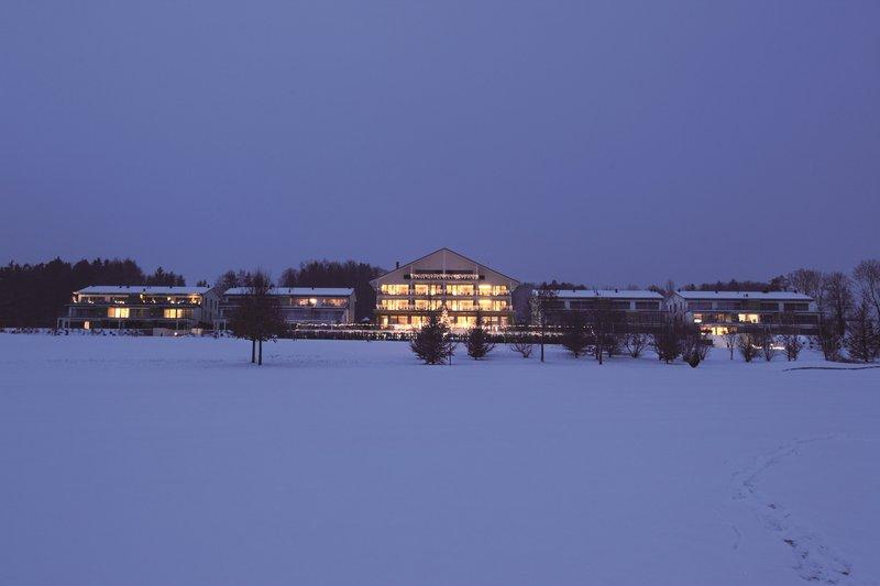 Hotel in winter