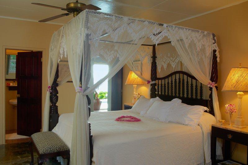 Milestone Cottage Master Bedroom