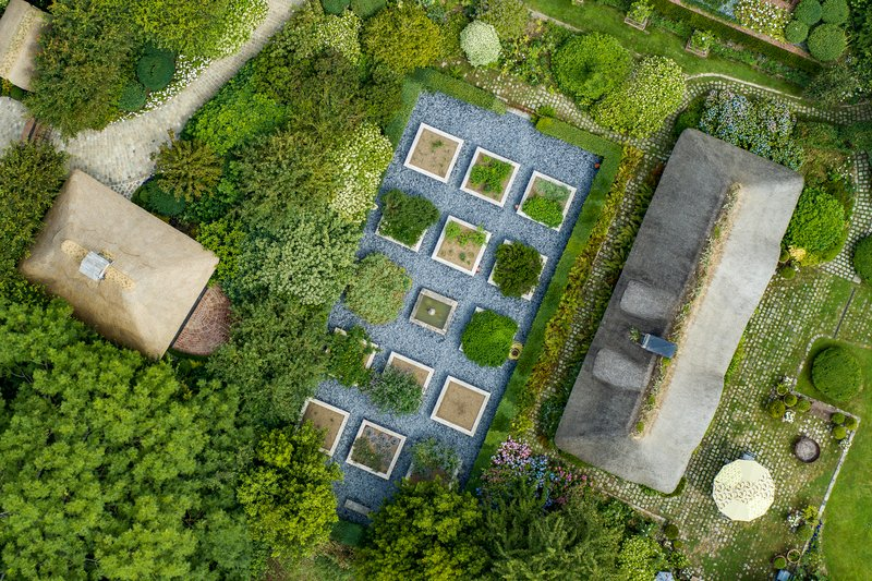 Cottage Aerial View