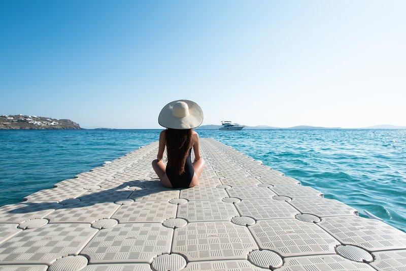 Private Dock On Agios Ioannis Beach