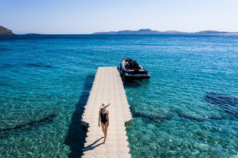 Agios Ioannis Bay And Delos Island View