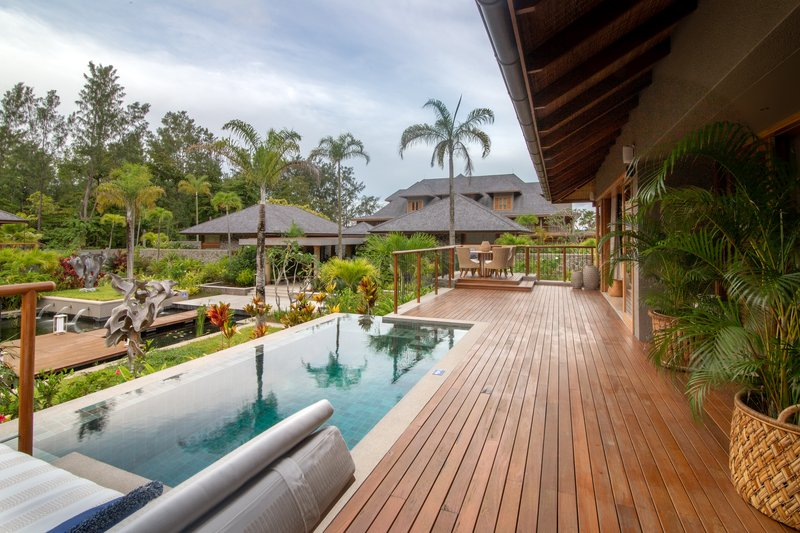 Enjoy your own private plunge pool