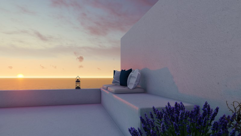 Experience Milos sunsets surrounded by luxury