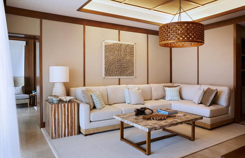 Spa Pool Villa - Living Room