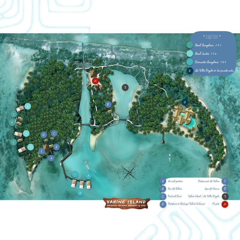 Layout Vahine Island Tahaa