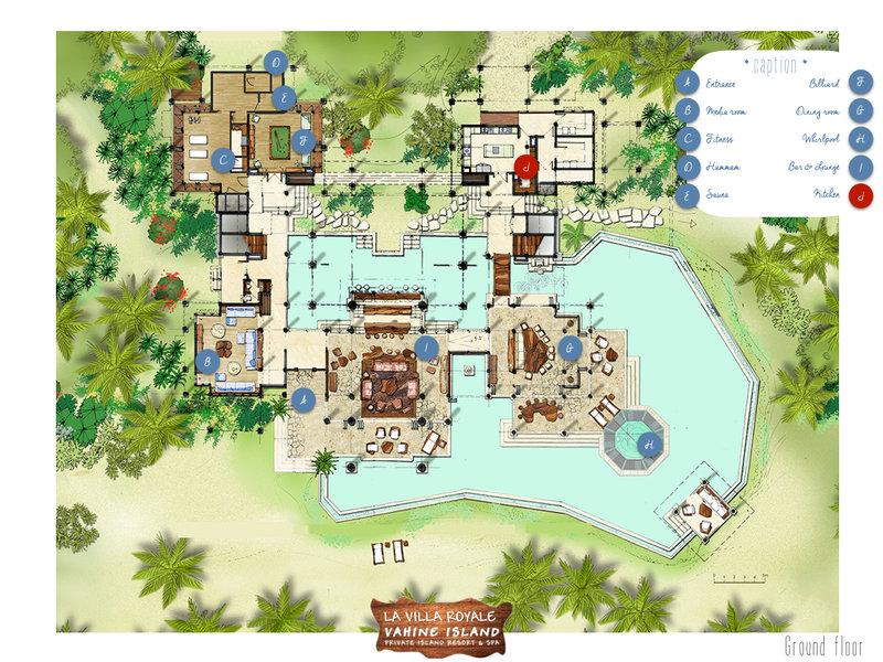 Layout Villa Royale
