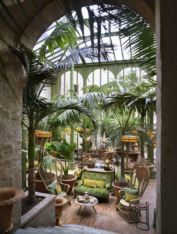 Hotel Castello Di Reschio The Palm Court