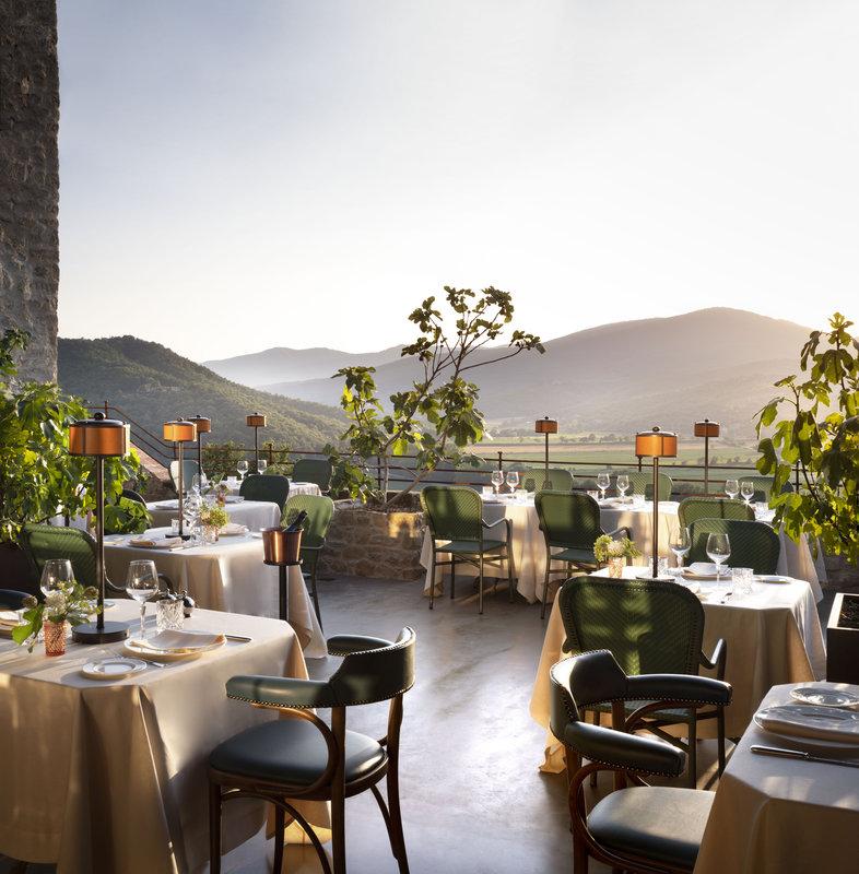 Ristorante Al Castello The Terrace Hotel Castello Di Reschio