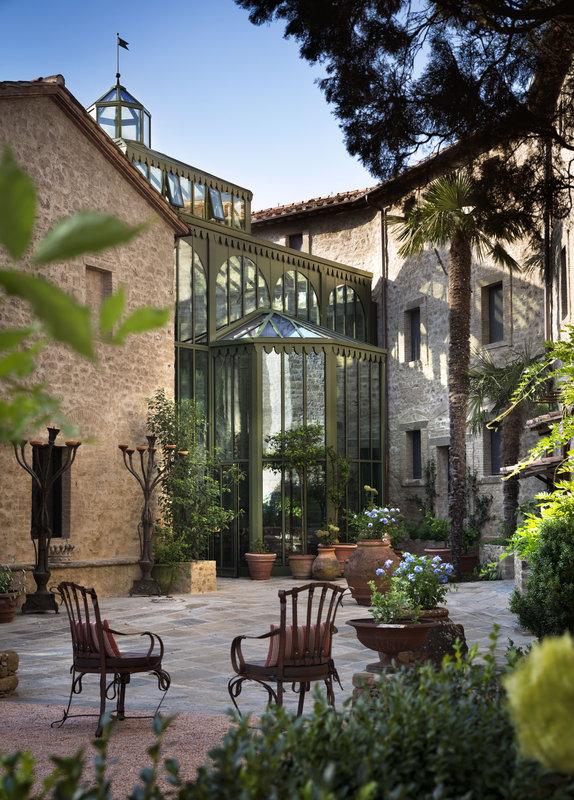 The Palm Court Hotel Castello Di Reschio