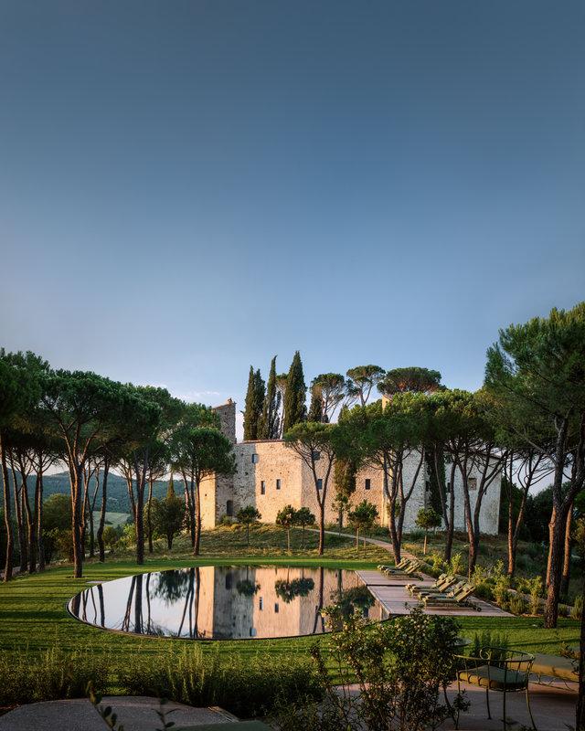 The Pool Hotel Castello Di Reschio