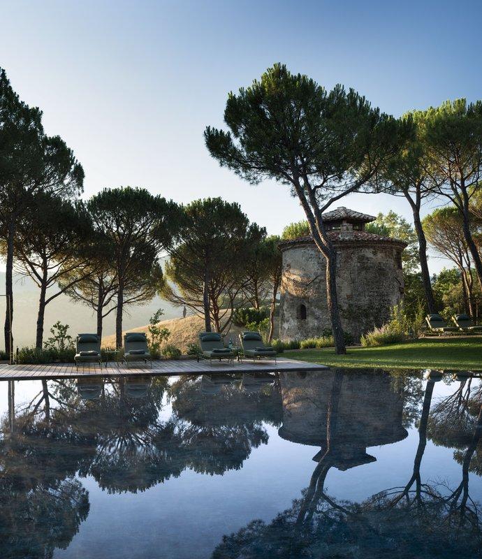 Hotel Castello Di Reschio Il Torrino Pool Bar