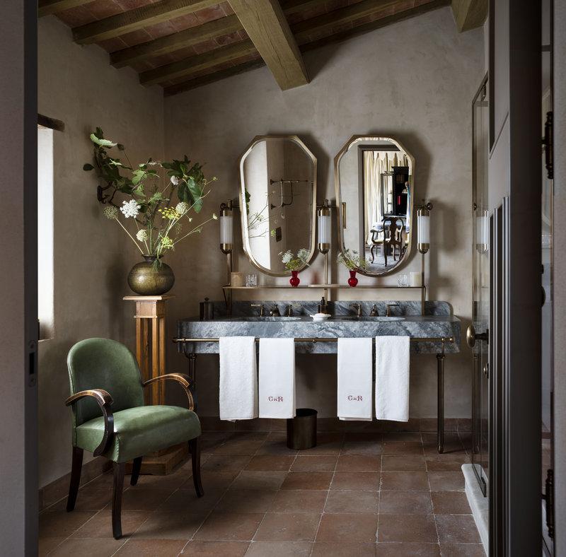 Bathroom Suite Hotel Castello Di Reschio